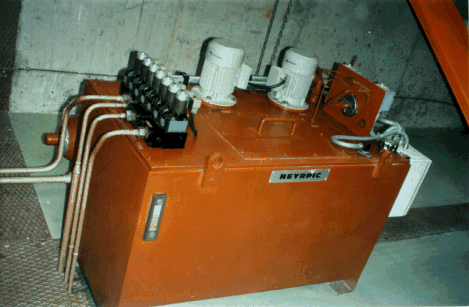 Chapter 6. Electromechanical equipment 191 disconnected from the mains the turbine accelerates up to runaway speed with inherent danger for the generator and the speed increaser, if one is used.