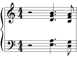 Perhaps the most famous example of the quartal voicing of Bill Evans appears in his So What chords with three perfect fourths and a third, as shown in Figure
