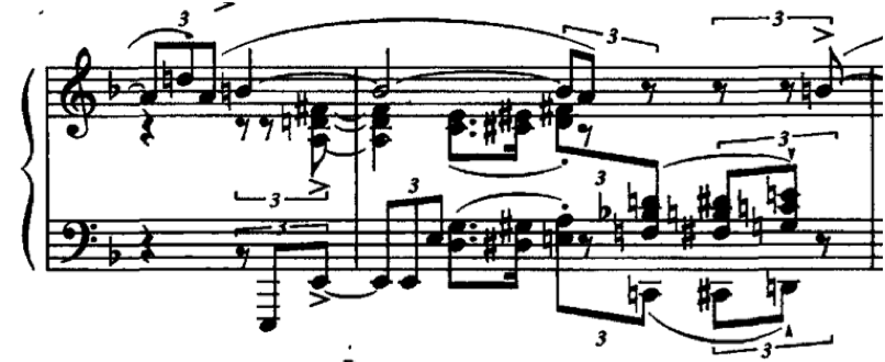 Evans, So What 22 In the same bagatelle by Kapustin, the composer writes parallel quartal voicings that are analogous to Herbie Hancock s chromatically