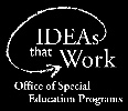 Department of Education Office of Special Education Programs Award No.