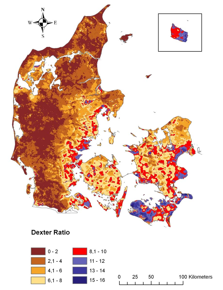 Danish soils is not yet sufficiently clarified, current agricultural management practices are not expected to lead to a significant and irreversible accumulation of SOM within an agronomically