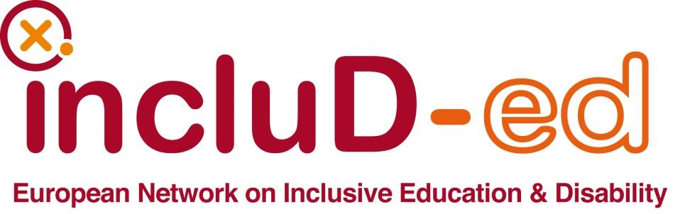 The European Network on Inclusive Education and Disability, includ-ed: - Transnational Cooperation initiative - led by Fundación ONCE - in the framework of