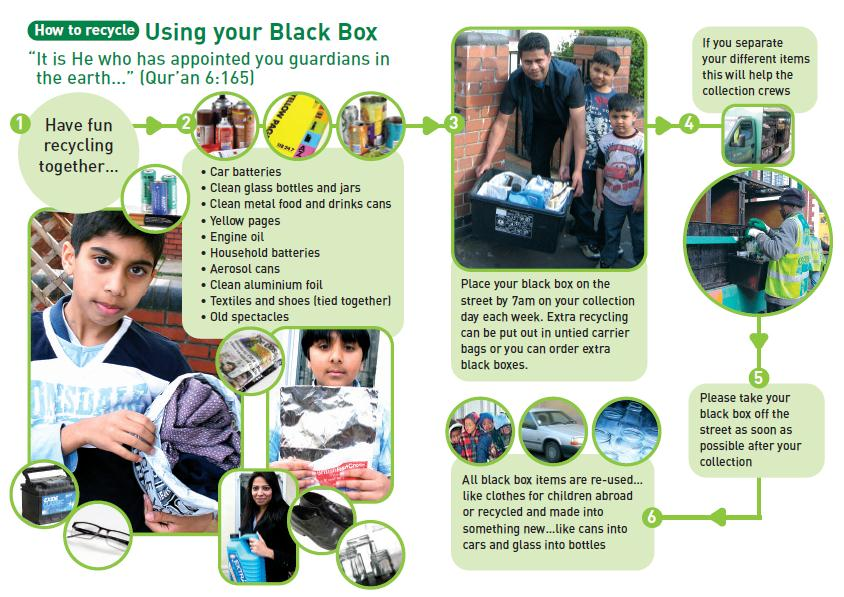 An example of a storyboard leaflet from Bristol Communications methods As with any communications it is important to tailor your methods to your target audience.