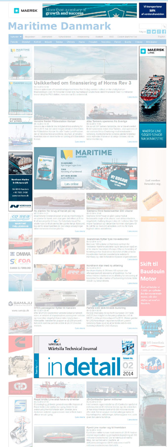 Shipping, offshore, ports or the maritime industry all sectors are included. You only have to look at one site to get it all.