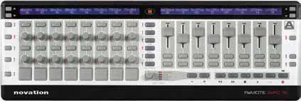 The keyboard controller allows you to play software instruments. The audio interface allows you to connect to a sound system, or to record audio into the included Ableton Lite software.