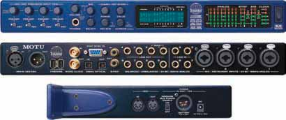76 Computer Audio Interfaces - FIREWIRE MOTU 828 MK3 MOTU 896HD #MA828MK3 749 95 input, 24-bit/96kHz FireWire Audio Interface.
