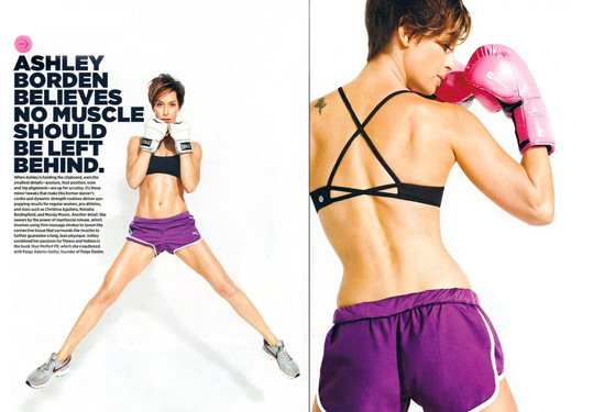 FEATURED IN: Women s Health named Borden a Top Body Transformer in 2011, one of only six trainers