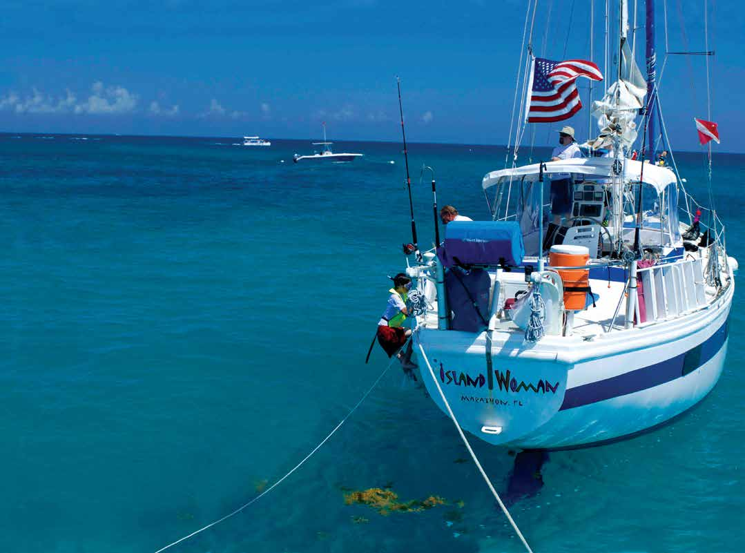 SAILING Coral Reef Sailing Adventure Your home for a week will be on a large sailing vessel over 41 feet long.