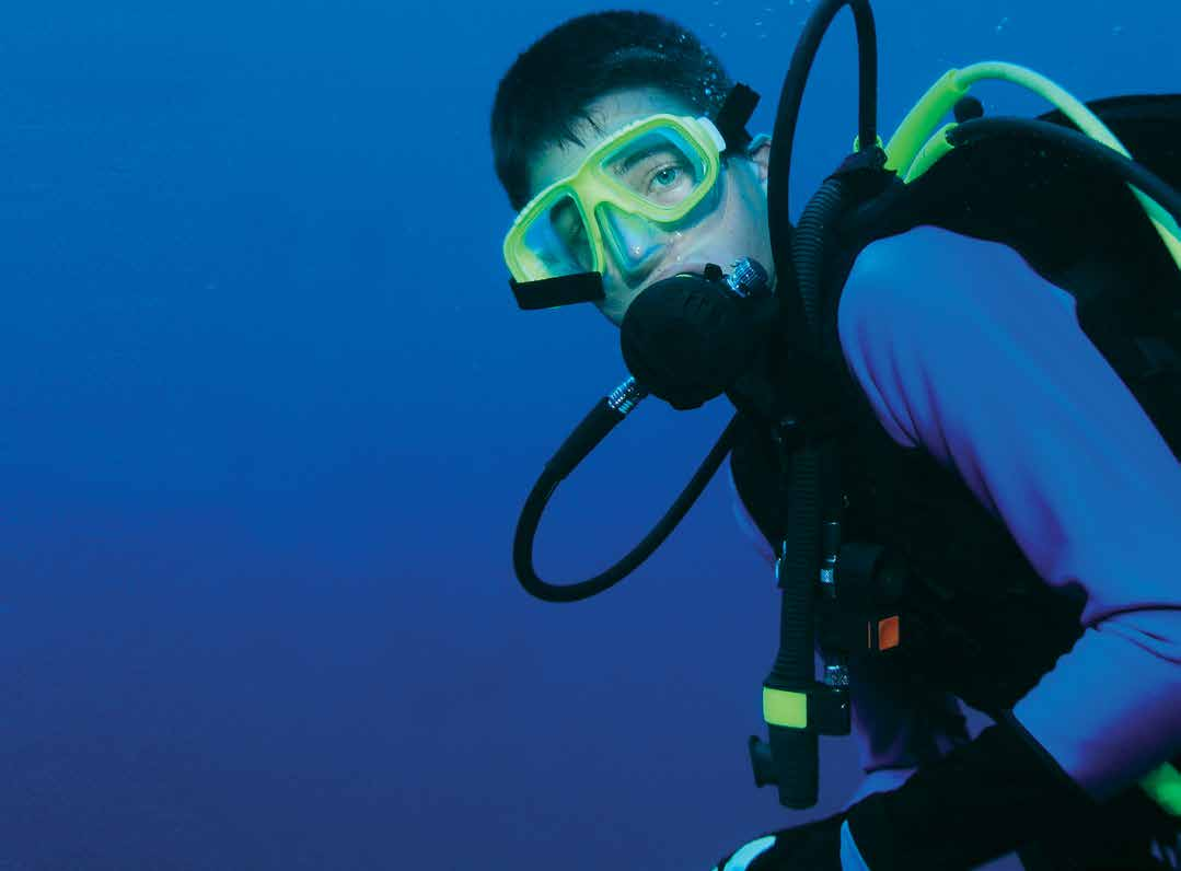 SCUBA Scuba Adventure If you are a certified diver, this is your program. You will have the opportunity to dive beautiful coral reefs in the Florida Keys.