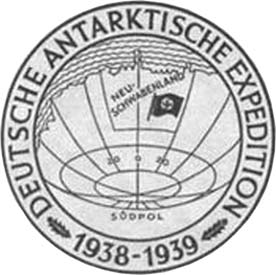 HITLER S ANTARCTIC BASE: THE MYTH AND THE REALITY 5 Fig. 2. The seal of the German Antarctic expedition 1938 1939. Fig. 3. Boreas flying boat on Schwabenland s catapult (Courtesy Lufthansa). Fig. 4.