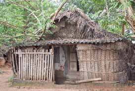 15 Typical dwelling in a fishing village in Papua New Guinea. India rural dwelling.