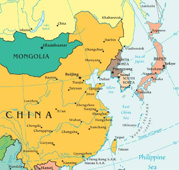China Moves Out Japan s nationalization of the Senkakus, seems again to be a signal of China s resolve.