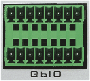 ANNEXE F: GPIO CONNECTORS PYKO-out PYKO-out features four TTL 5 V compatible GPIs and four relay GPOs. The counterparts are provided.