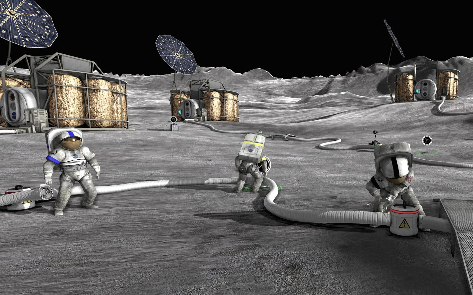 OVERVIEW NASA has once again landed on the lunar surface with the goal of colonization, research, and further exploration.