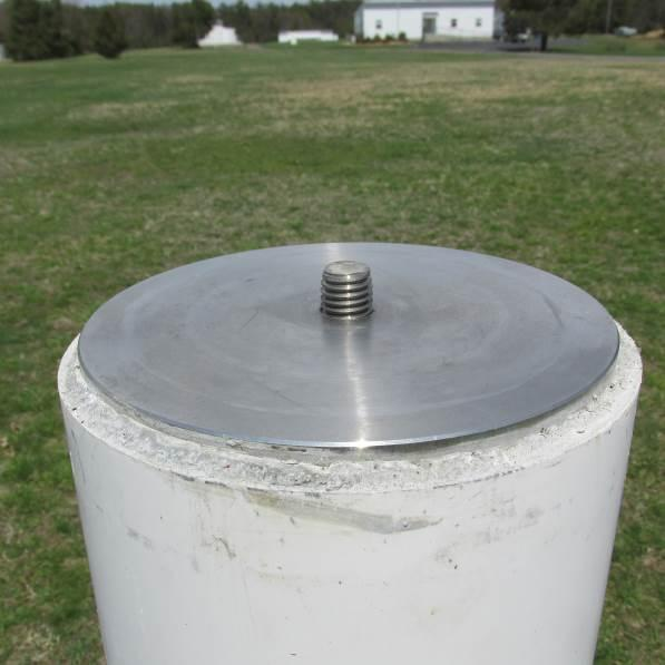 Guidelines for Setting a Type II Monument Forced Centering Adapter With a forced centering adapter (Figures 2 and 3), survey instruments may be efficiently attached to the monument in a repeatable