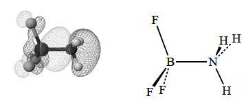 which has a node between the boron and