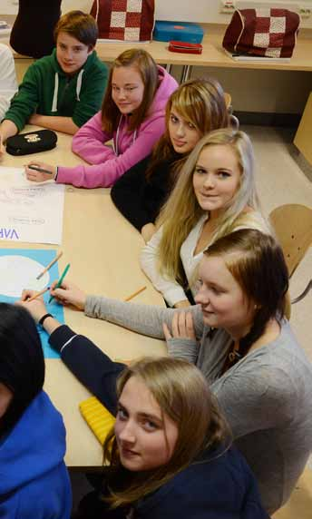 Vaasa Teacher Training School Global citizens in Finland a strategic plan for the school i Vaasa Teacher Training School Class 8B at work on the concept of global citizen.