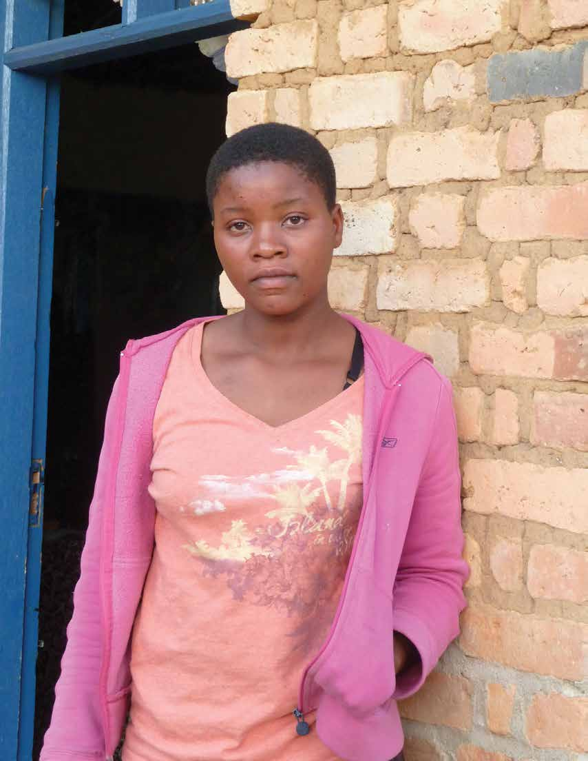 Maria s Story It was towards the end of the year, and 13-year-old Maria like all her friends from primary school was anxiously awaiting the results of her national Primary School Leaving Examination.