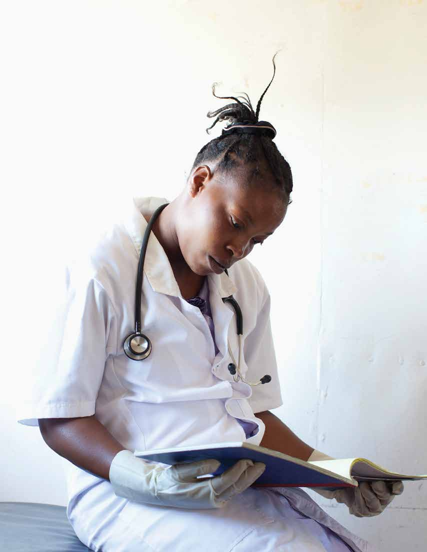 Lack of Information and Counselling According to our interviews with adolescent girls, health care providers typically provide no counselling or information whether in advance of or during the