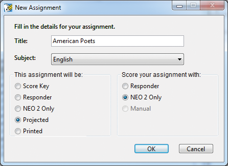 Getting the Most out of NEO 2 To view the Class Standards Report: 1. Click the Gradebook tab, and select an assignment that has been aligned. 2. From the Reports menu, select Class Standards. 3.
