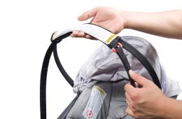 64 Using the Soft Carrier Handle Using the Soft Carrier Handle cont d To carry the Infant Car Seat: A 65 Carrying and Install Using the the Base