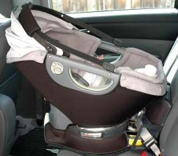 Lower the Sunshade flush with the Upholstery when not in use. The Sunshade has a Sunshade Extension: 1.
