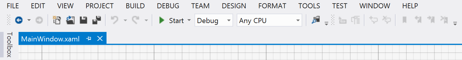 windows presentation foundation Here s a hint: if you move too many windows around your IDE, you can always reset by choosing Reset Window Layout from the Window menu. 4 Start your program.