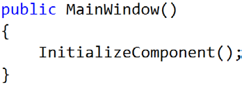 cs file you ve been editing contains the code for a class called MainWindow. You ll learn about classes in Chapter 3. 1 2 Add another line to the top of your C# code.