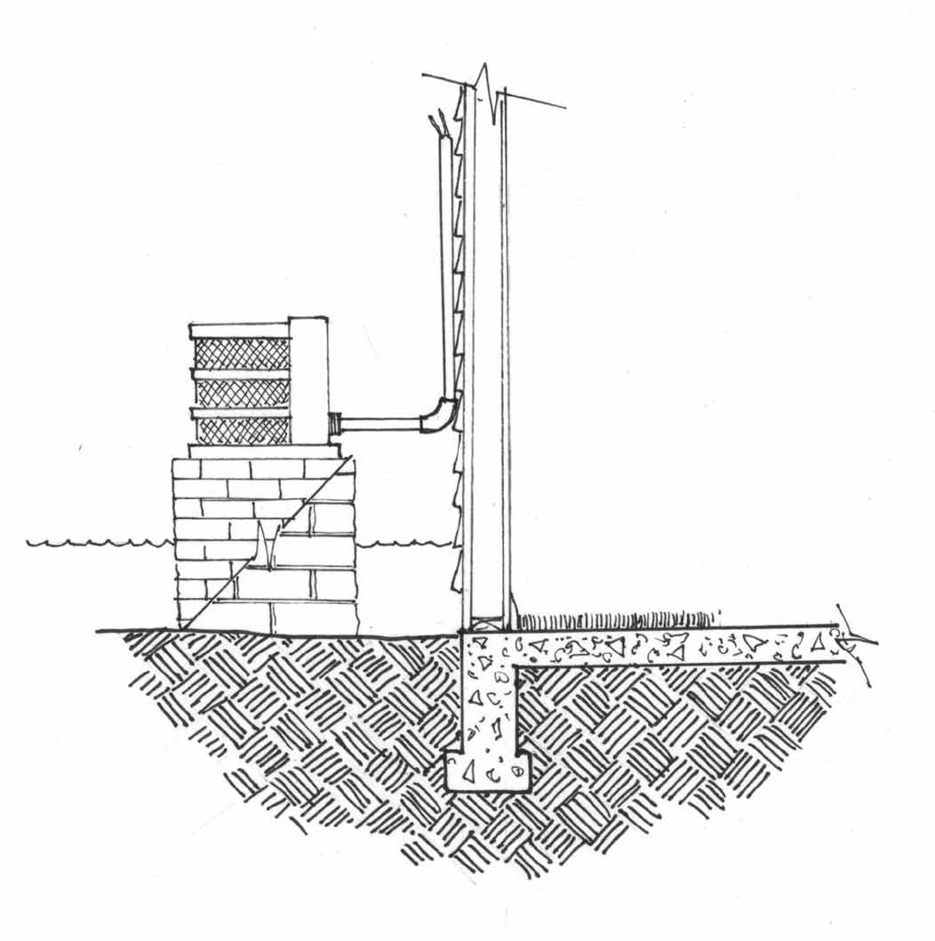 Mitigation ideas 27 Elevating an Air Conditioning Compressor or Heat Pump To protect an air conditioning compressor or heat pump elevate it at least 12 above the 100-year flood level on masonry,