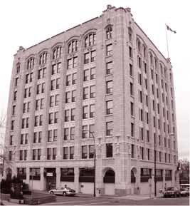 The Public Utility Commission or Whalen Building, dates from 1928 and is recognized as Thunder Bay s first Commercial skyscraper.