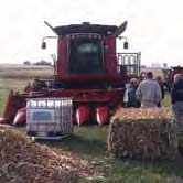 ON NOVEMBER 3, 2009, POET HELD A PROJECT LIBERTY FIELD DEMONSTRATION OF BIOMASS HARVESTING EQUIPMENT, INCLUDING THIS COMBINE, WITH MORE THAN A DOZEN AGRICULTURAL EQUIPMENT MANUFACTURERS IN