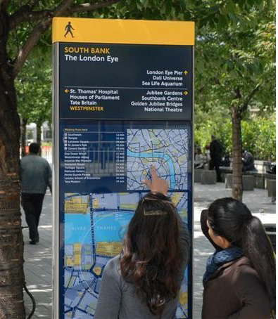 The success of Legible London has made it an international model for wayfinding design.