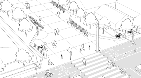 5 PATH TOOLBOX SAFETY & COMFORT Street Furniture Landscaping & Shade PATH PLANNING GUIDELINES Goals» Provide amenities to make active transportation users comfortable while travelling» Increase