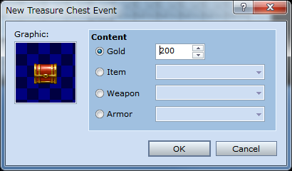 *Creating a Treasure Chest Event.