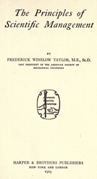 In the course of his empirical studies, Taylor examined various kinds of manual labour and he discovered many concepts that were not widely accepted at the time.