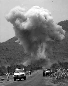 Date: 06/27/92 Comments: A French peacekeeper was injured when his truck hit an AT mine.