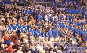 Dan Mitchell Architect, Mackey mitchell associates Q: Explain how the design of Chaifetz Arena sets it apart from other facilities.
