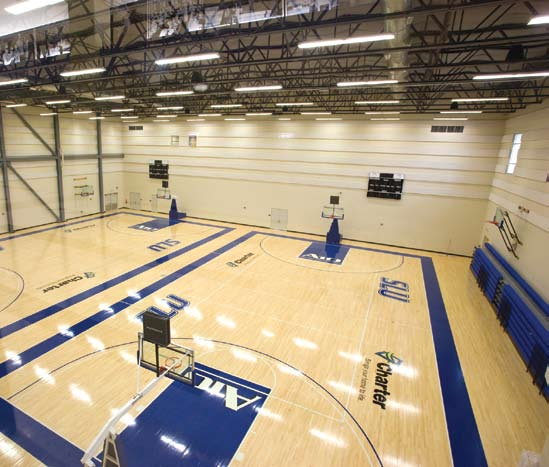 Not only does it help the men s and women s basketball teams with a great competition facility, but the practice gym, sports medicine facility and the strength and