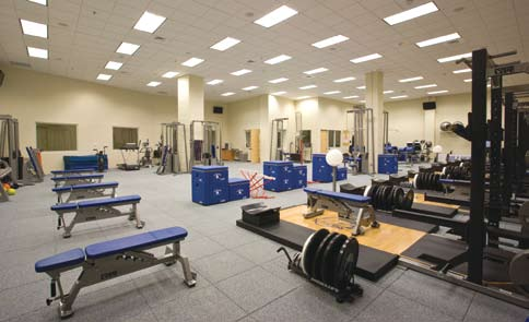 In addition, Chaifetz Arena allows all of our sports teams to have offices, locker room facilities and an academic center, all of which support and enhance the