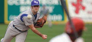 27, the SLU baseball team faced the St. Louis Cardinals Wednesday in an exhibition game at Roger Dean Stadium on Jupiter, Fla.