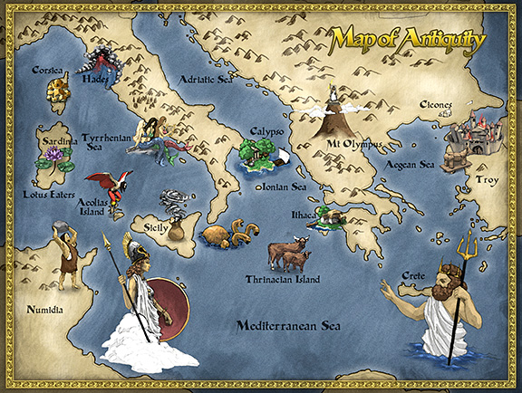 Aeneas, a Trojan prince, managed to escape the destruction of Troy, and Virgil's Aeneid tells of his flight from Troy.