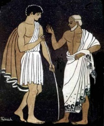 Book Two: Telemachus Sets Sail Athena and Telemachus People to Know: Eurymachus and Antinous (two of the most brazen of the suitors; they will continue to be singled out for special attention,