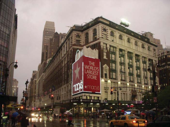 Figure 1. This is a photograph (taken by the author) of the historic Macy s department store in Manhattan, New York, NY.