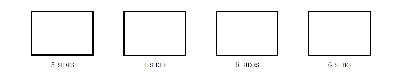 CS488/688 Introduction to Computer Graphics 75 Now suppose we look at an orthographic projection of these line segments from an overhead view, and that they appear as in the diagram below: A B C