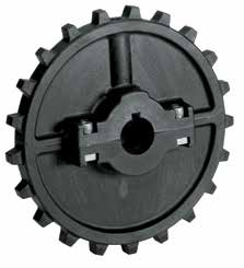 1625 Series - Components NS7700 Sprockets All current 7700 sprockets are available to drive the chain. Bores available to fit standard 31-7/16 in and 19.0 to 350.0mm shafting.