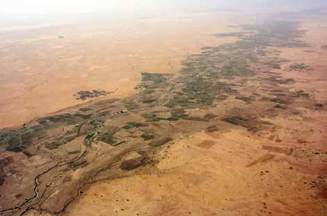 A small wadi or khorr in North Darfur.