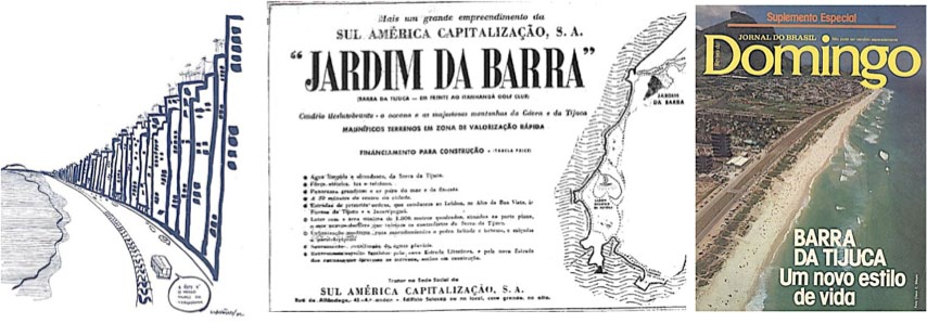 282 The case of the new urban frontier of Rio de Janeiro The expansion of the South Zone to the west, in Baixada de Jacarepaguá, starting in the 60s, in vast areas with few properties, was in large