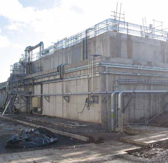 SHARON MVPC Shell Green (UK) United Utilities has selected the SHARON process for removal of nitrogen from centrate at the MVPC (Shell Green) centre for sludge processing.