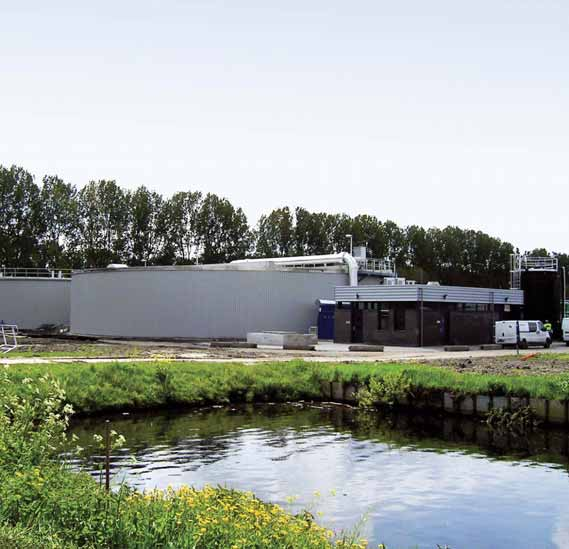 SHARON Garmerwolde (NL) The wastewater treatment plant (WWTP) at Garmerwolde (Groningen, The Netherlands) is refurbished to meet future effluent standards.