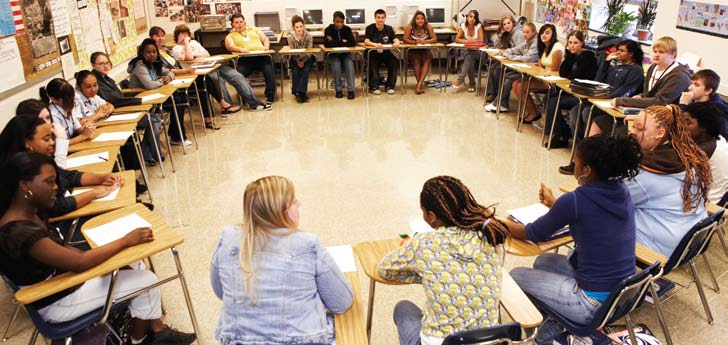 Improving School climate Findings from Schools Implementing restorative practices PHOTO: RONNIE